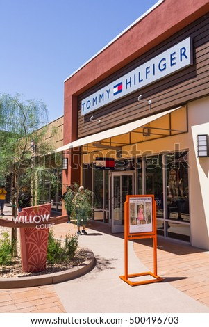 Phoenix, AZ, USA - May 18, 2013: Tommy Hilfiger store located in Phoenix Premium Outlets.