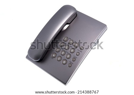 Phone isolated on white background