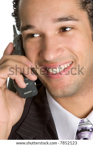 Phone Man - stock photo