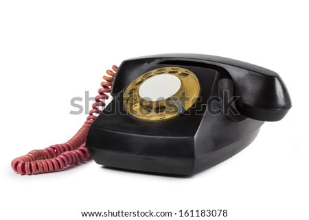phone on the white background - stock photo