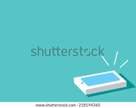 Phone ringing - stock photo