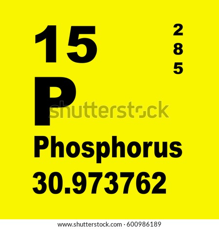 Phosphorus periodic table elements stock illustration 600986189 phosphorus periodic table of elements urtaz Images