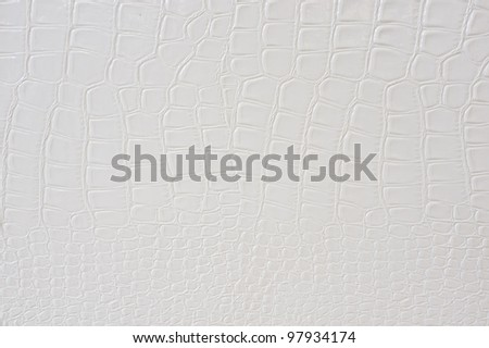 Photo a luxurious white leather as a snake or a crocodile - stock photo