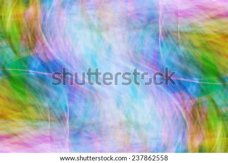 Photo art, bright Colorful light streaks abstract background in blue, purple and green colors - stock photo