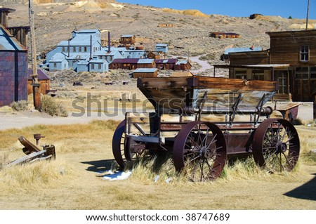 photo bodie national state park, ca, usa - stock photo