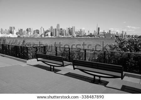 photo capture of new york city, nyc, usa - stock photo