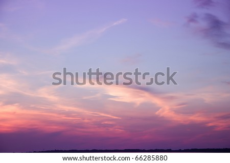 Photo Clouds Fantasy - stock photo