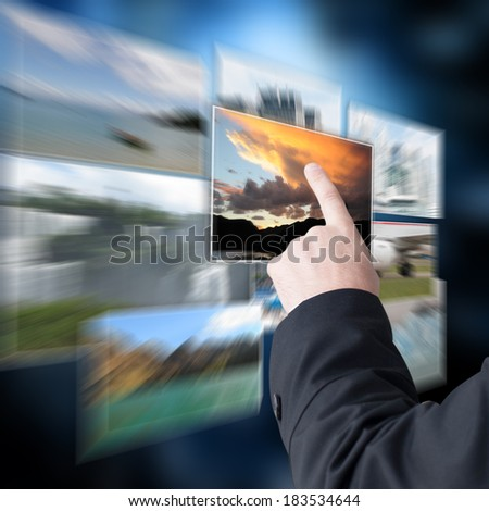 Photo collection - stock photo