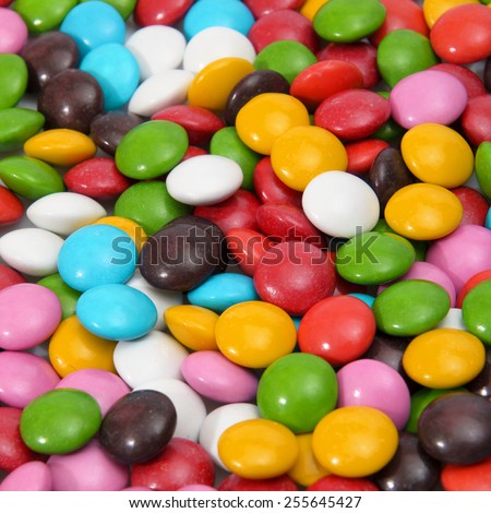 Photo Colorful Background Sweet Tasty Bonbons Candy