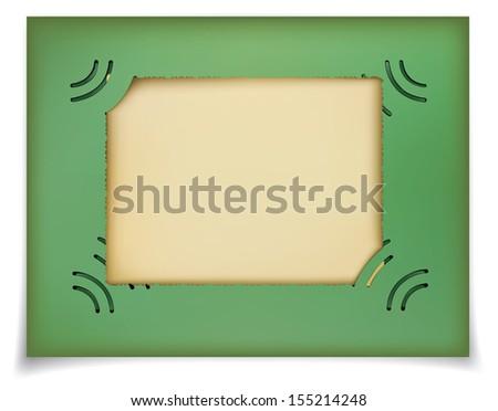 Photo for memory. Rasterized illustration. Vector version in my portfolio - stock photo