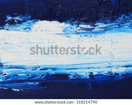 photo grunge brush strokes oil paint background and texture - stock photo