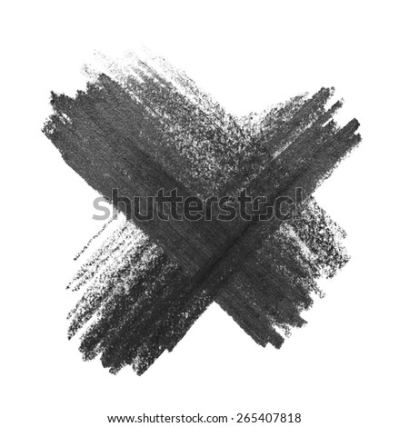 photo no icons graphite pencil texture isolated on white background - stock photo