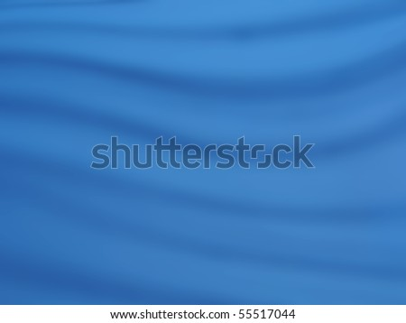 photo of a blue fabric background - stock photo