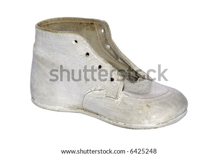 Photo of a Old Baby Shoe - Pediatric Shoe