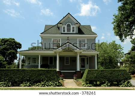 Photo of a Residential Home - stock photo
