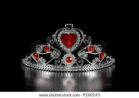 Photo of a Tiara - Crown With Jewels - stock photo