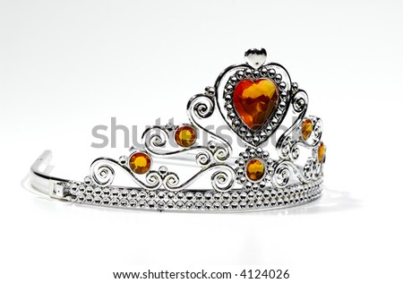 Photo of a Tiara With Jewels - Crown - Beauty Related - stock photo