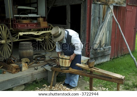 Photo of a Vintage Craftsman / Carpenter - Woodworker
