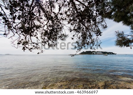 Photo of Adriatic Sea in Porec, Istra, Croatia