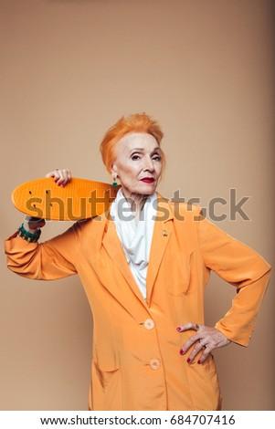 Mature redhead photo exhibit