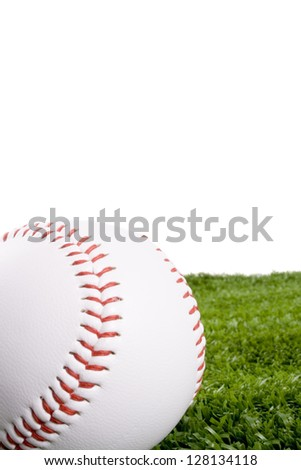 Photo of Baseball on grass