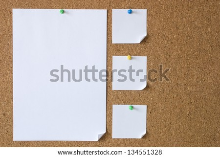 Photo of Big and small messages - stock photo