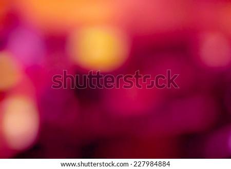 Photo of bokeh lights  - stock photo