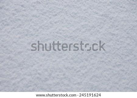 Photo of bright snow background  - stock photo