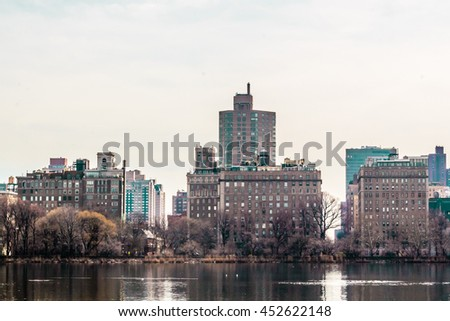 Photo of Buildings near Central Park in Manhattan, New York City
