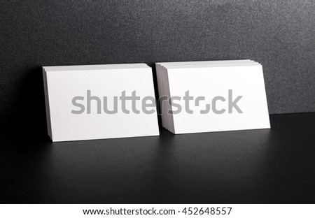 Photo of business cards. Template for branding identity. For graphic designers presentations and portfolios. Business Card, business, business, card, mock-up, mock up, mockup.