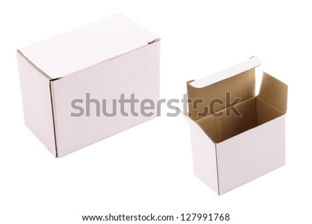 Photo of Cardboard box