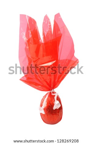 Photo of Chocolate Egg - Red