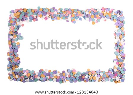 Photo of Confetti frame