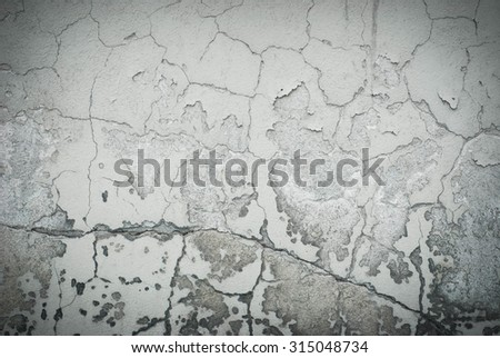 Photo of damaged wall - perfect for background