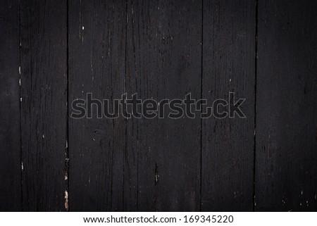 Photo of dark wood background textured - stock photo