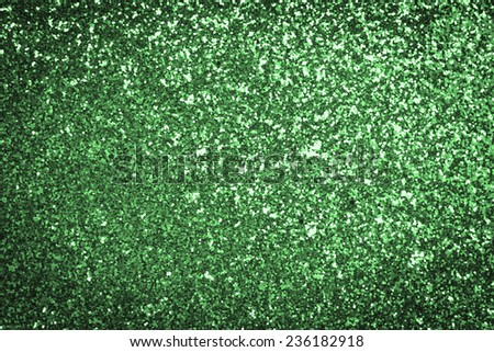 photo of  Decorative deep green background with sparkling - stock photo