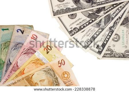 Photo of Exchanging money - stock photo