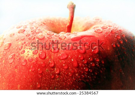photo of fresh an juicy apple