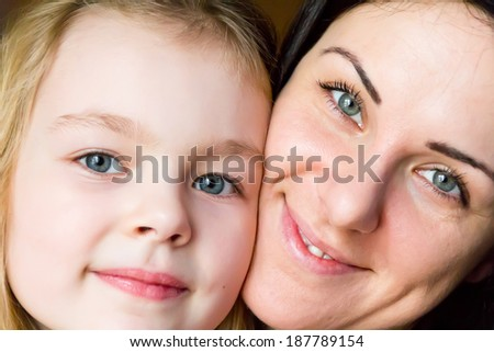 Photo of happiest mother and daughter