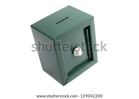 Photo of Kids coin bank - stock photo