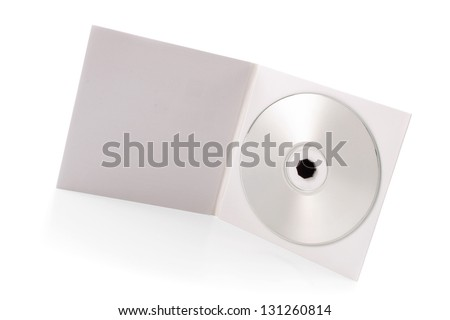 Photo of Package - CD - stock photo