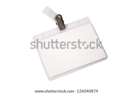 Photo of Personal identification - stock photo