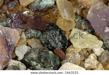 Photo of Stones and Uncut Gems
