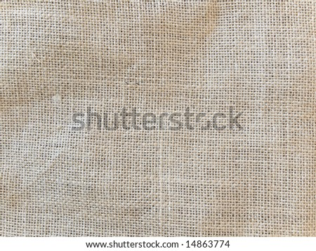 Photo of the brown linen background
