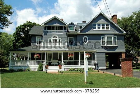Photo of Victorian Style Home