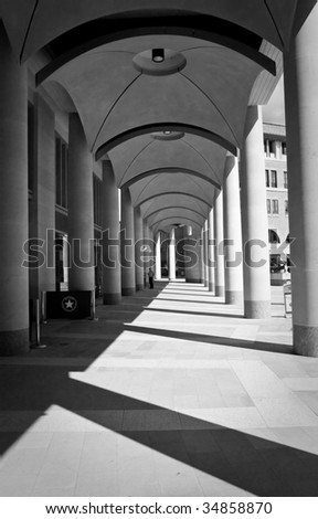 Photo of walkway in Bank, London