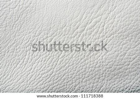 photo of white leather background - stock photo