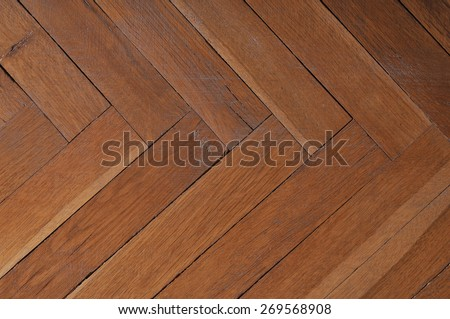 Photo of wood background. Parquet floor.