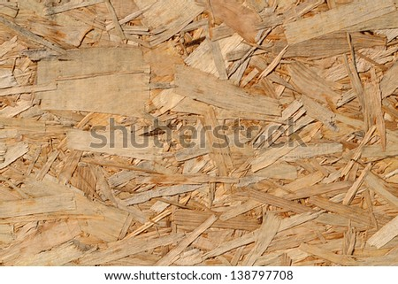 Photo of wood osb texture - stock photo