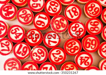 Photo of Wooden Numbers Texture Pattern Background